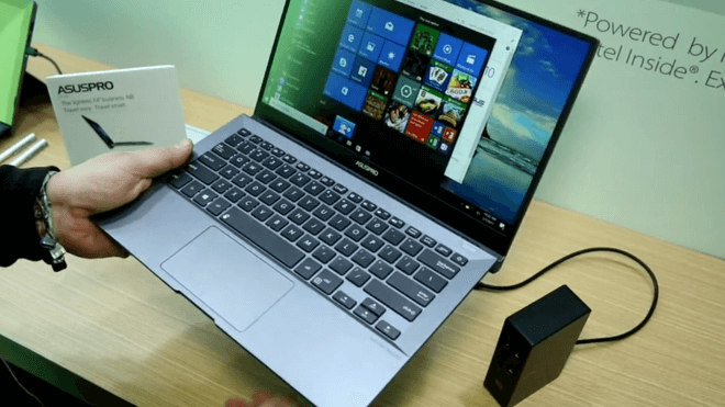 Windows 10, Notebook, Laptop, Hardware, Asus, Ces, Hands on, Business, CES 2017, ASUS Pro B9440, 14 Zoll, Pro B9440, Business Notebook
