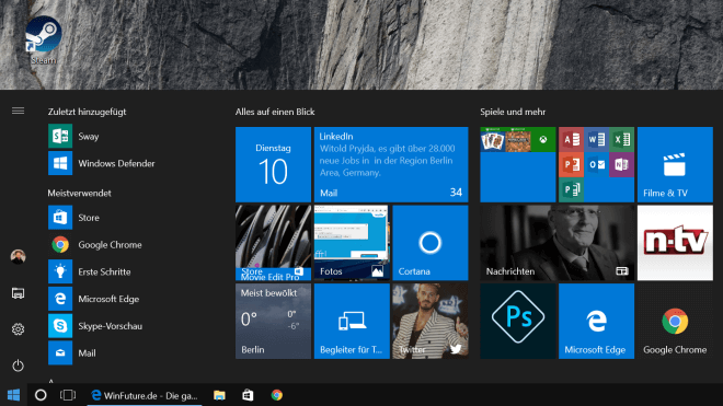 Microsoft, Betriebssystem, Windows 10, Windows Insider, Insider Preview, Windows 10 Insider Preview, Windows 10 Preview, Windows Insider Preview, Build 15002, Windows 10 Build 15002
