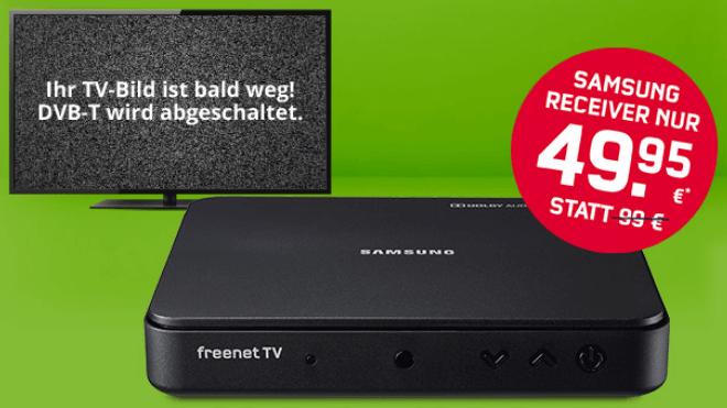Fernsehen, Aktion, DVB-T2, Freenet, Receiver, DVB-T2 HD, Freenet TV, Samsung Receiver