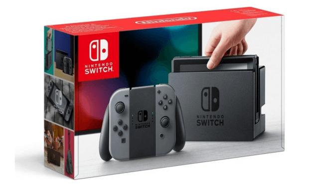 Konsole, Nintendo Konsole, Nintendo Switch, Switch, Verpackung