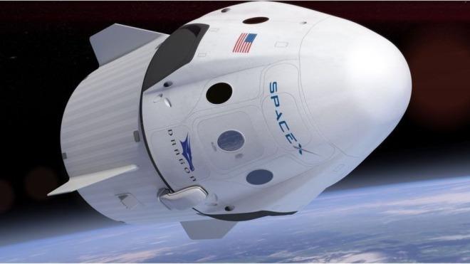 Elon Musk, Spacex, Raumschiff, Dragon, Raumkapsel