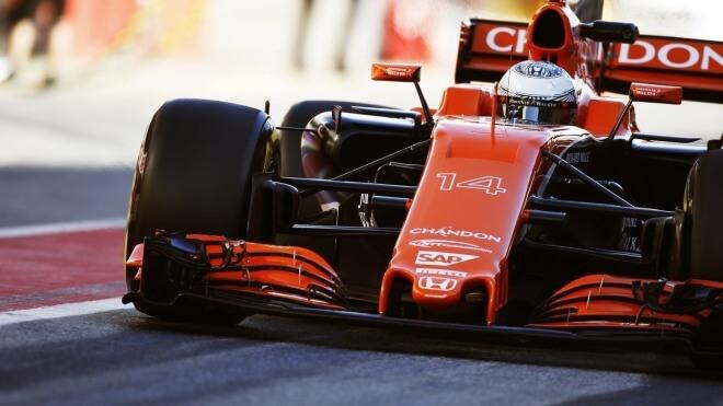 Formel 1, McLaren, Formula One, Formel Eins, MCL32, Rennwagen, McLaren-Honda