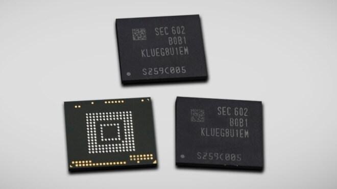 Samsung, Chip, Speicher, Flash, Ssd, Rom, Nand, UFS