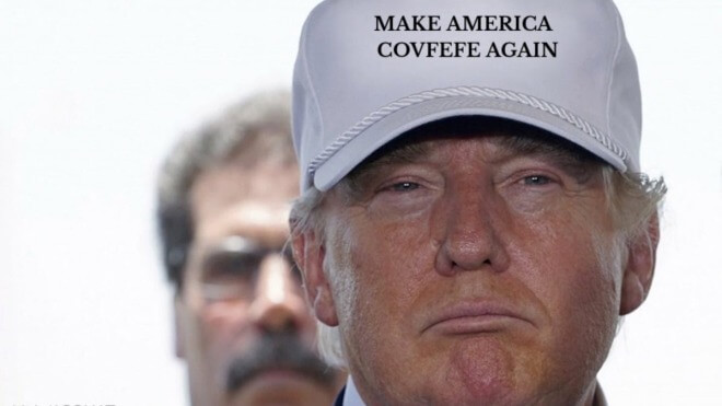 Usa, Twitter, Donald Trump, Präsident, US-Präsident, trump, Covfefe