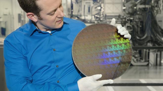 Ibm, Chips, Wafer, 5 Nanometer