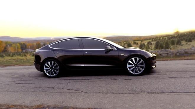 tesla, Elektroauto, Model 3