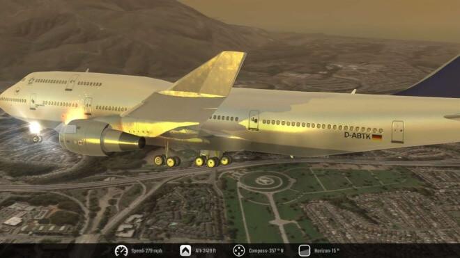 Flugsimulator, Flight Unlimited 2K16, Windows 10 Games