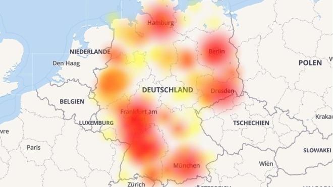Internet, Vodafone, Netzbetreiber, Störung
