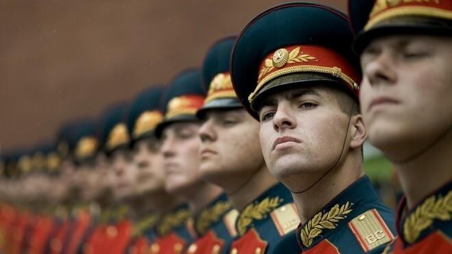 Russland, Militär, Moskau