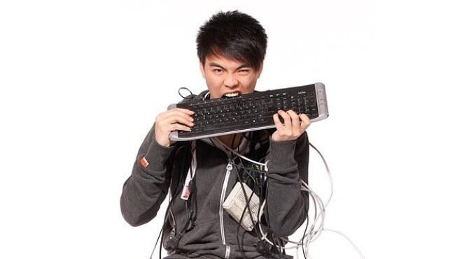 Entwickler, Programmierer, Programmierung, Fail, Frust