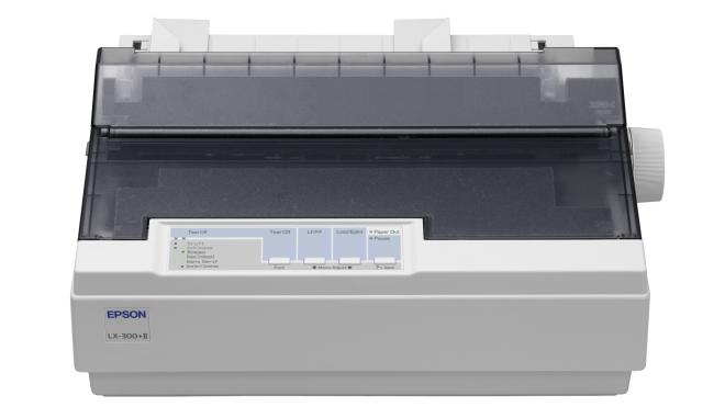 Drucker, Epson, Nadeldrucker, Durchschlag, Epson LX-300+II, Dot-Matrix