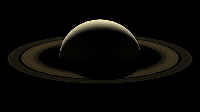 Saturn, Panorama, Planet, Cassini