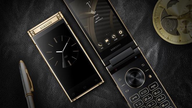 Smartphone, Samsung, Klapp-Handy, Samsung W2018, SM-W2018, Klapp-Smartphone