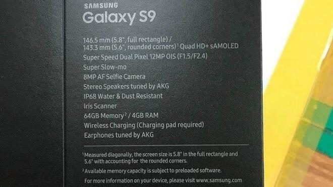 Samsung, Samsung Galaxy, Samsung Galaxy S9, Galaxy S9, S9