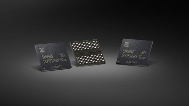 Samsung, Chip, Speicher, Chips, GDDR6