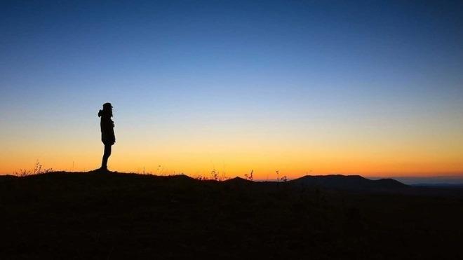 Abend, Einsam, Allein