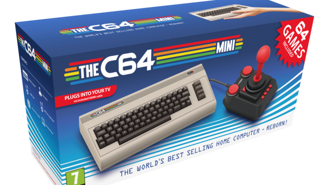 Commodore, Retro-Spiele, C64, C64 Mini