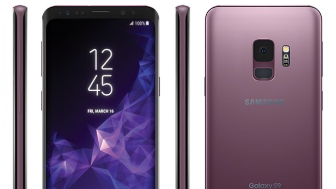 Smartphone, Samsung, Galaxy, Samsung Galaxy S9, SM-G960, Lila, Lilac Purple