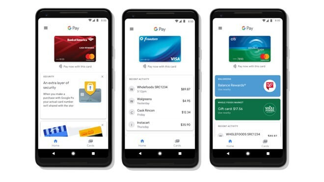 Smartphone, Google, Bezahlsystem, Mobile Payment, Android Pay, Google Pay