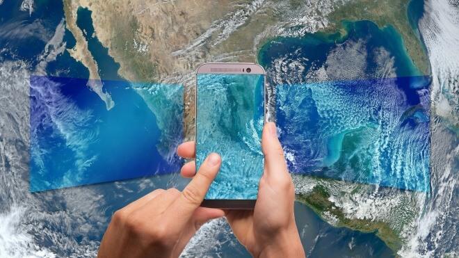 Smartphone, Internet, Wlan, WiFi, Welt