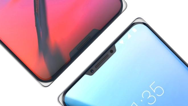 Smartphone, Design, Zte, Konzept, ZTE Iceberg, Iceberg