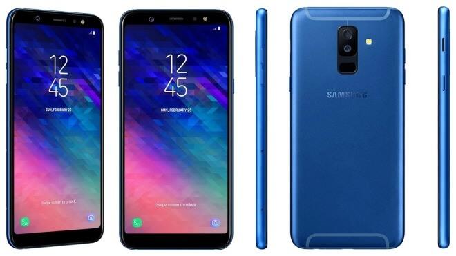 Smartphone, Samsung, Samsung Galaxy A6 Plus (2018), SM-A605, Galaxy A6, Galaxy A6 Plus