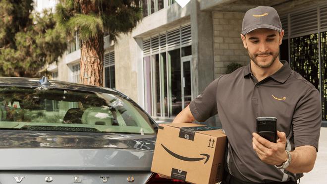 Amazon, Auto, Lieferung, Kofferraum, Amazon Key In-Car
