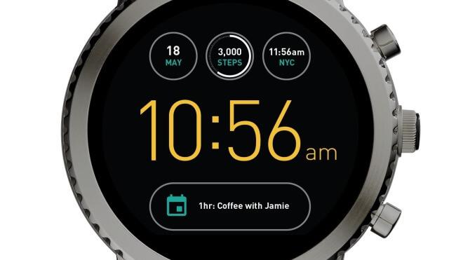 smartwatch, Wearables, Fossil, Wear OS