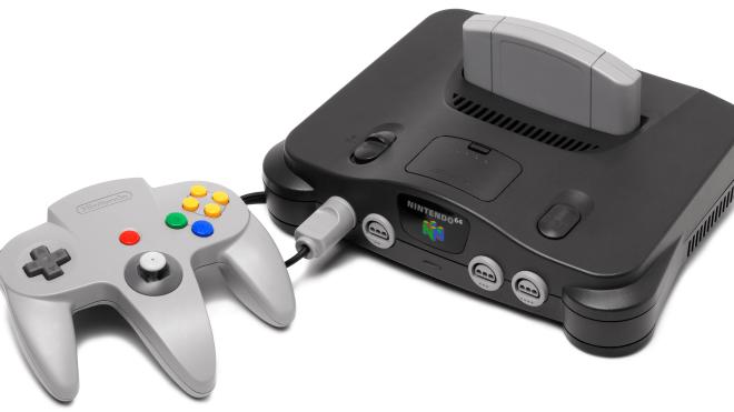 Konsole, Nintendo, N64, Nintendo 64
