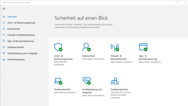 Windows 10, Sicherheit, Antivirus, Windows Defender, Defender, Windows Antivirus, Windows Defender Security Center