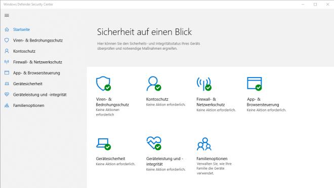 Windows 10, Sicherheit, Antivirus, Windows Defender, Defender, Windows Antivirus, Windows Defender Security Center