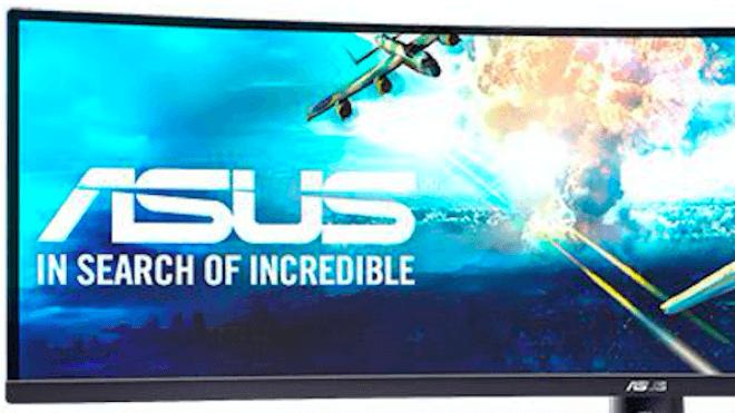 Display, Asus, Monitor, VG49V