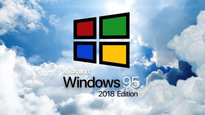 Konzept, Windows 95, 2018 Edition