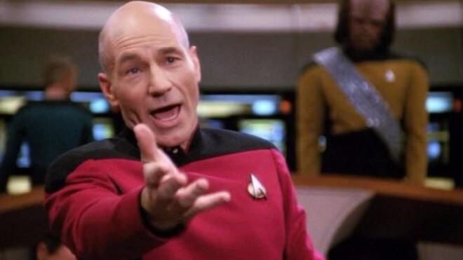 Star Trek, The Next Generation, Jean Luc Picard, Patrick Stewart