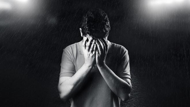 Fehler, Mann, Traurig, Versehen
