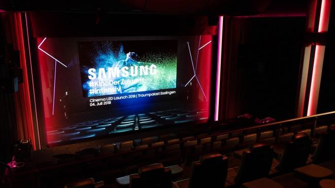 Samsung, Kino, Kinoleinwand, LED Cinema