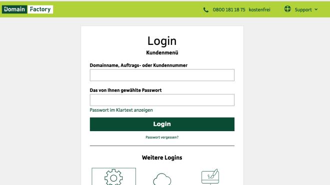 Hack, Datendiebstahl, DomainFactory