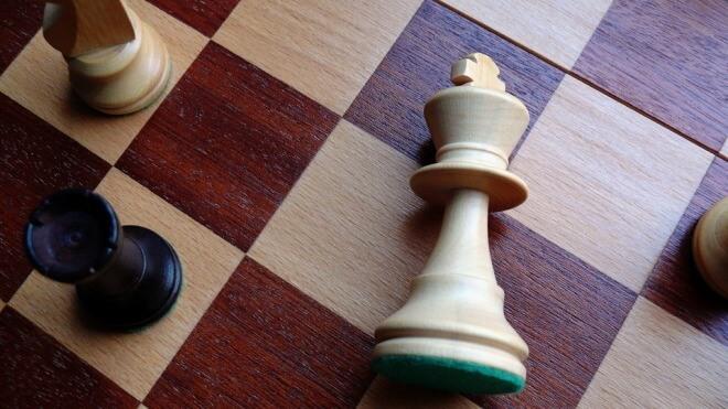Schach, Niederlage, Schachmatt, Verloren