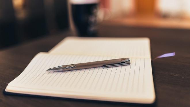 Stift, Notepad, Notizbuch, Schreiben
