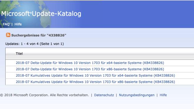 Microsoft, Betriebssystem, Windows 10, Updates, Delta-Updates, Express-Updates