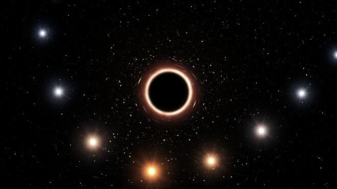 Weltall, Milchstraße, Schwarzes Loch, ESO