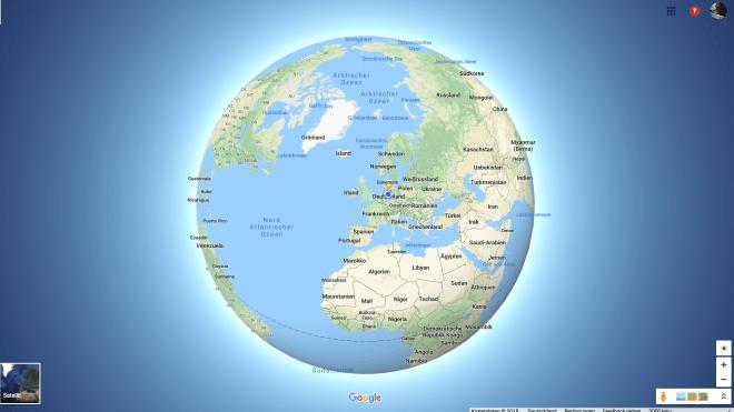 Google, Google Maps, Flath Earth, 3D Globus