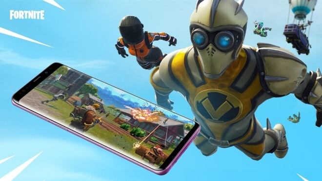 Android, Fortnite, Note9
