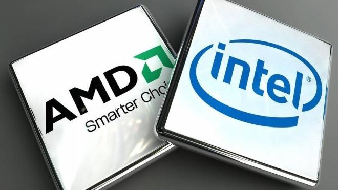Intel, Prozessor, Amd, Chips