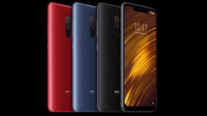 Smartphone, Xiaomi, Pocophone F1, Poco F1