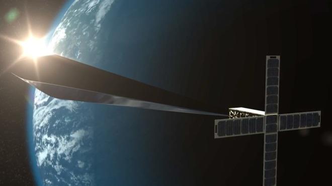 Satellit, Satelliten, Kunst, Orbital Reflector, Skulptur