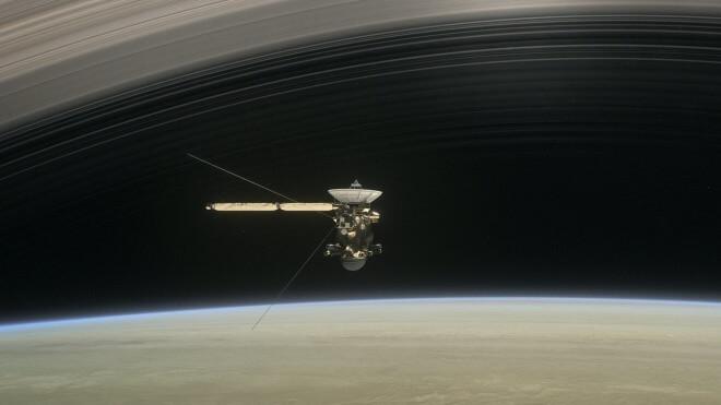 Saturn, Sonde, Planet, Cassini