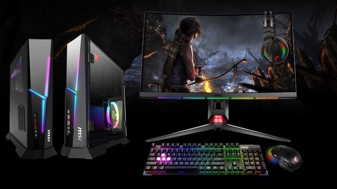 Msi, Kompakt, Komplett-PC, Trident X