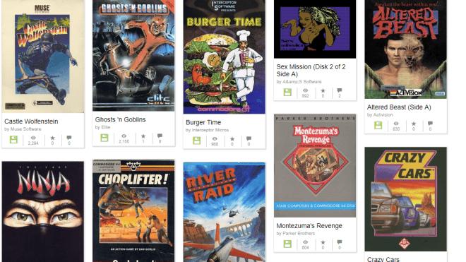 Spiele, Commodore, Internet Archive, C64, Commodore 64