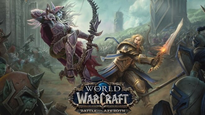 Blizzard, Mmorpg, World of Warcraft, Wow, Battle for Azeroth